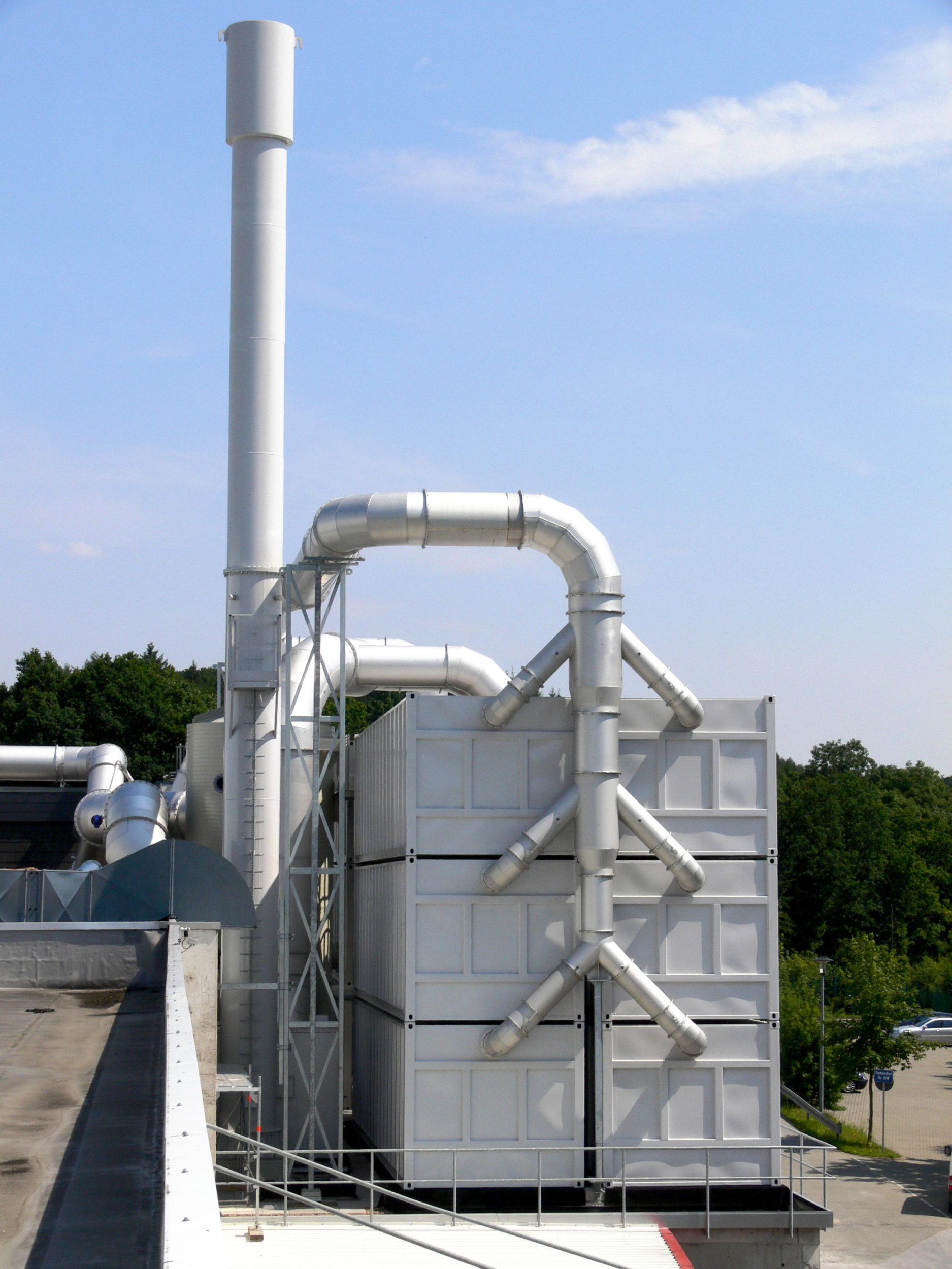 Errichtung Einer Bio-Filteranlage