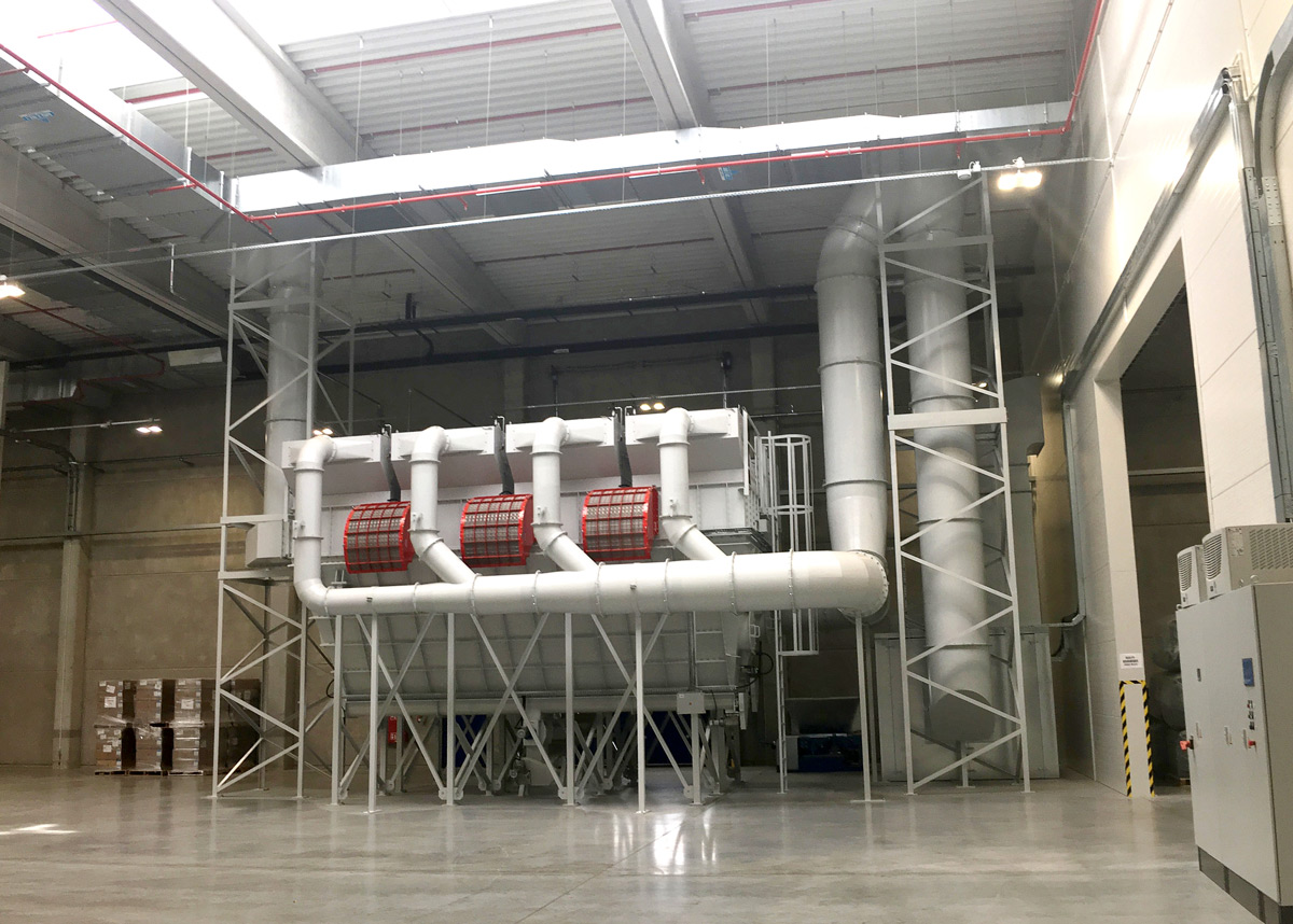 Errichtung Eines Produktionsstandorts Mit Abluftreinigungsanlage In Polen