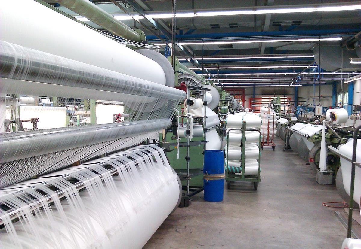 Produktionsanlage Für Segeltuch
