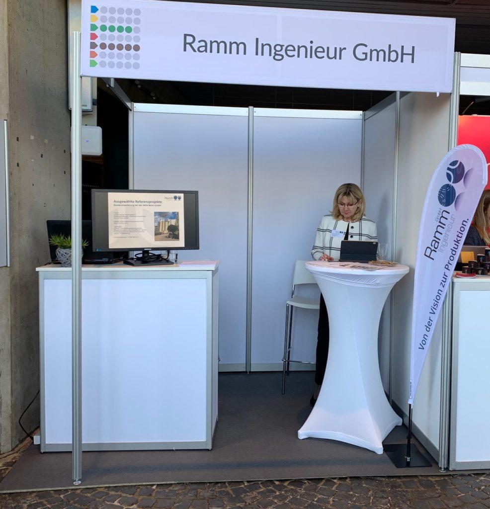 Der Stand der Ramm Ingenieur GmbH auf der Stellenwerk Jobmesse 2019